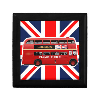 The Red London Bus Gift Box