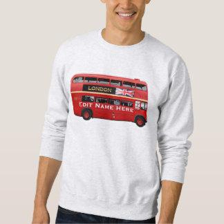 The Red London Bus Sweatshirt