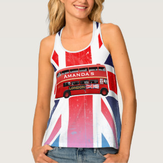 The Red London Bus Tank Top