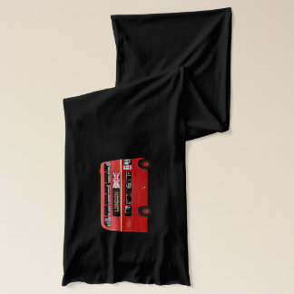 The Red London Double Decker Bus Scarf
