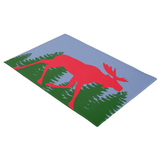 The Red Moose Doormat