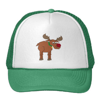 the Red Nosed Reindeer Cap