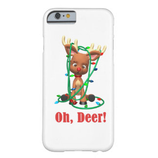 the Red Nosed Reindeer Gets Tangled Up Barely There iPhone 6 Case