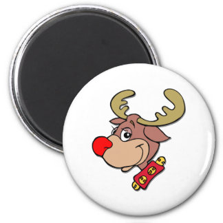 the Red Nosed Reindeer Magnet