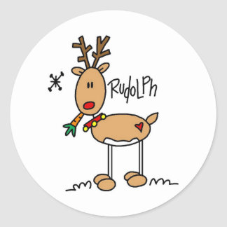 The Red Nosed Reindeer Sticker