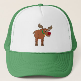 the Red Nosed Reindeer Trucker Hat