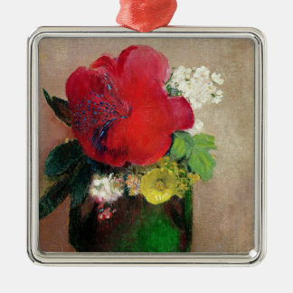 The Red Poppy Christmas Ornament