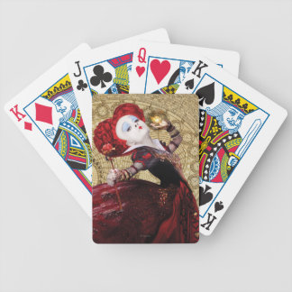 The Red Queen | Adventures in Wonderland 2 Bicycle Playing Cards