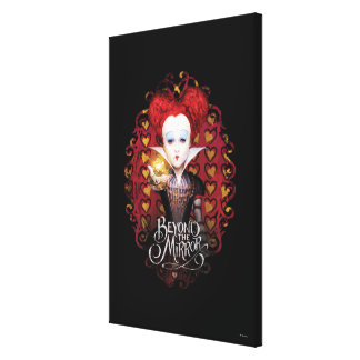 The Red Queen | Beyond the Mirror 2 Canvas Print
