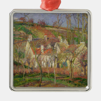 The Red Roofs, or Corner of a Village Christmas Ornament