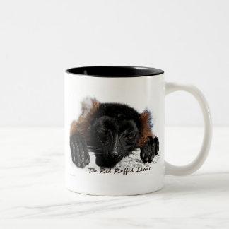 The Red Ruffed Lemur Mug