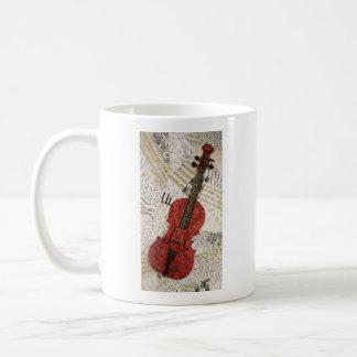 The Red Violin Coffee Mug