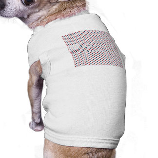 The Red White and Blue Doggie T-shirt