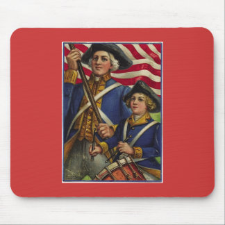 The Red, White and Blue Mouse Pad