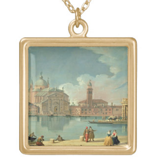 The Redentore, Venice Gold Plated Necklace