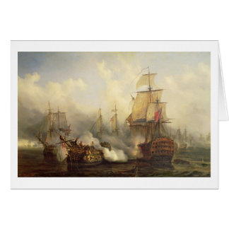 The Redoutable at Trafalgar, 21st October 1805 Card