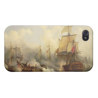 The Redoutable at Trafalgar, 21st October 1805 iPhone 4 Covers