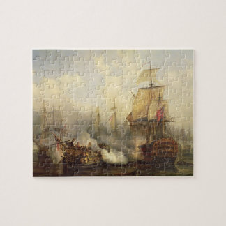 The Redoutable at Trafalgar, 21st October 1805 Jigsaw Puzzle
