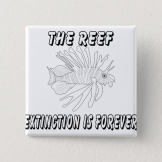 The Reef 15 Cm Square Badge