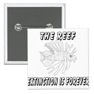 The Reef 15 Cm Square Badge