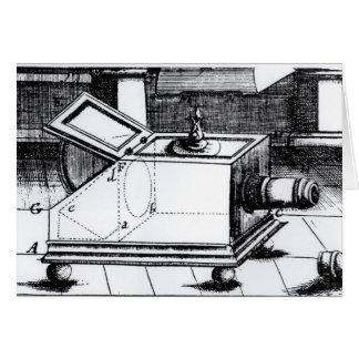 The reflex box camera obscura cards