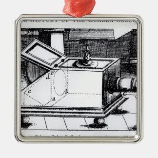 The reflex box camera obscura christmas ornament