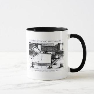 The reflex box camera obscura mug