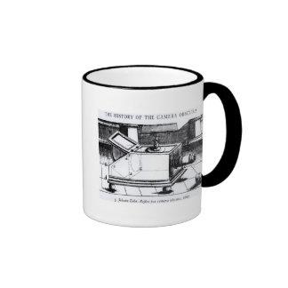 The reflex box camera obscura coffee mug