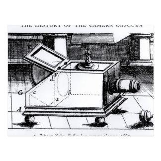 The reflex box camera obscura post cards