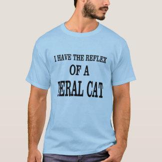 The reflex of a Feral Cat! T-Shirt