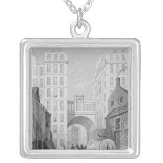 The Regent Bridge, Edinburgh Silver Plated Necklace