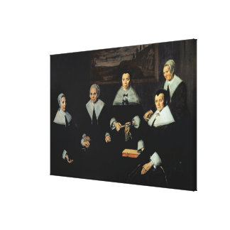 The Regentesses of the Old Men's Almhouse, Haarlem Canvas Print