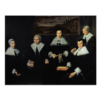 The Regentesses of the Old Men's Almhouse, Haarlem Postcard