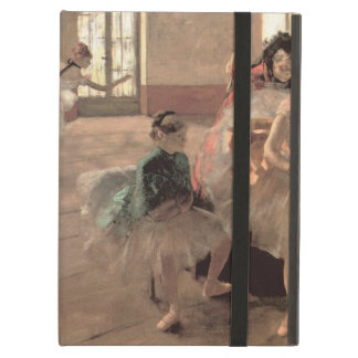 The Rehearsal by Edgar Degas, Vintage Ballet Art Case For iPad Air