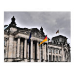 The Reichstag building, Berlin Postcard