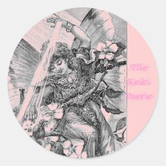 The Reiki Faerie Classic Round Sticker