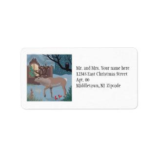The Reindeer Labels