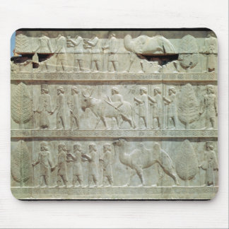 the relief frieze on the East stairway Mouse Pad