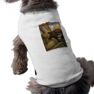 The Reluctant Dragon Sleeveless Dog Shirt