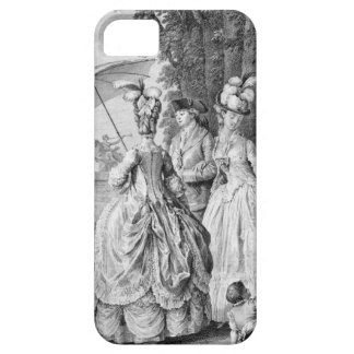 The Rendezvous at Marly, engraved by Carl Guttenbe iPhone 5 Covers