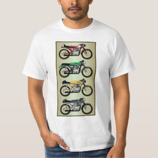 The Replicas series 1 - Cafe Racer design (front) T-shirts