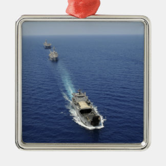 The Republic of the Philippines Navy ships Christmas Ornament