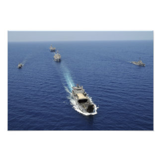 The Republic of the Philippines Navy ships Photographic Print