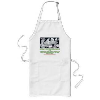 """The requisite incompatibilities"" Long Apron"