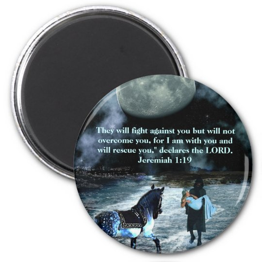 The Rescue Jeremiah1:19 magnet