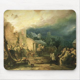 The Rescue of John Wesley Mouse Pad