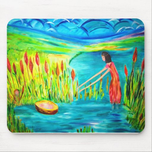 The Rescue of Moses in the Reeds Mouse Pads