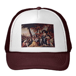 The Rescue Of The Moses Boy By Ricci Sebastiano Trucker Hat