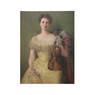 The Rest, his Daughter Edith by John Ferguson Weir Wood Poster