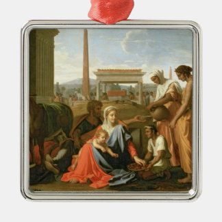 The Rest on the Flight into Egypt Christmas Ornament